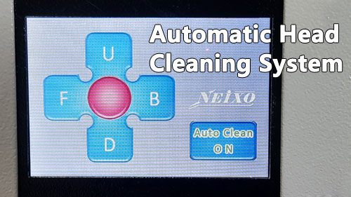 auto head cleaning for DTG printer