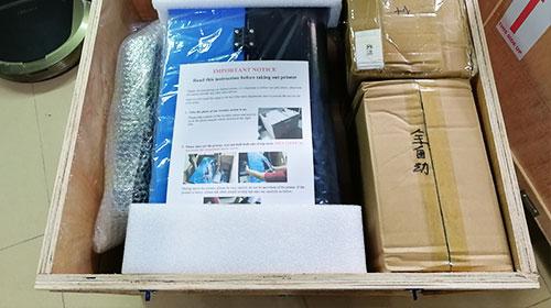 dtg printer packing