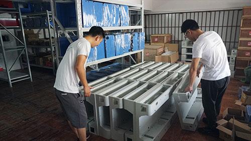 warehouse of phone case printer