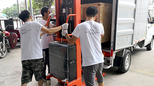 delivery of phone case printer