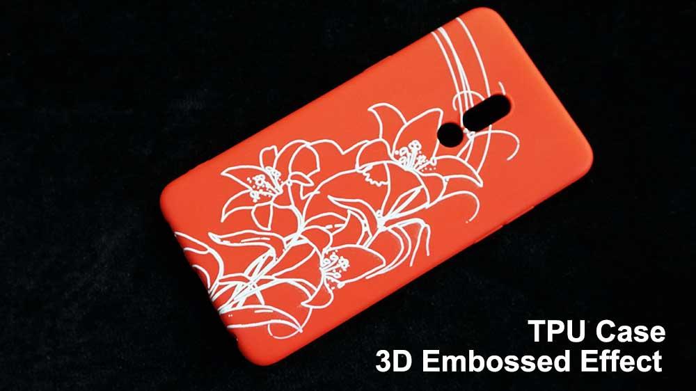 3d embossed raised effect phone case printer