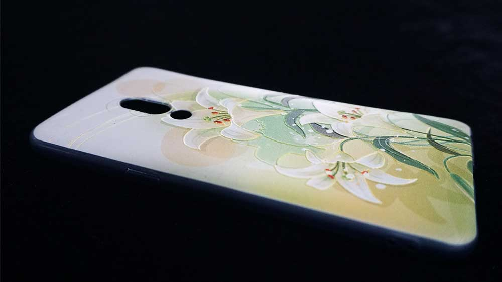 phone case printing machine with 3D effect