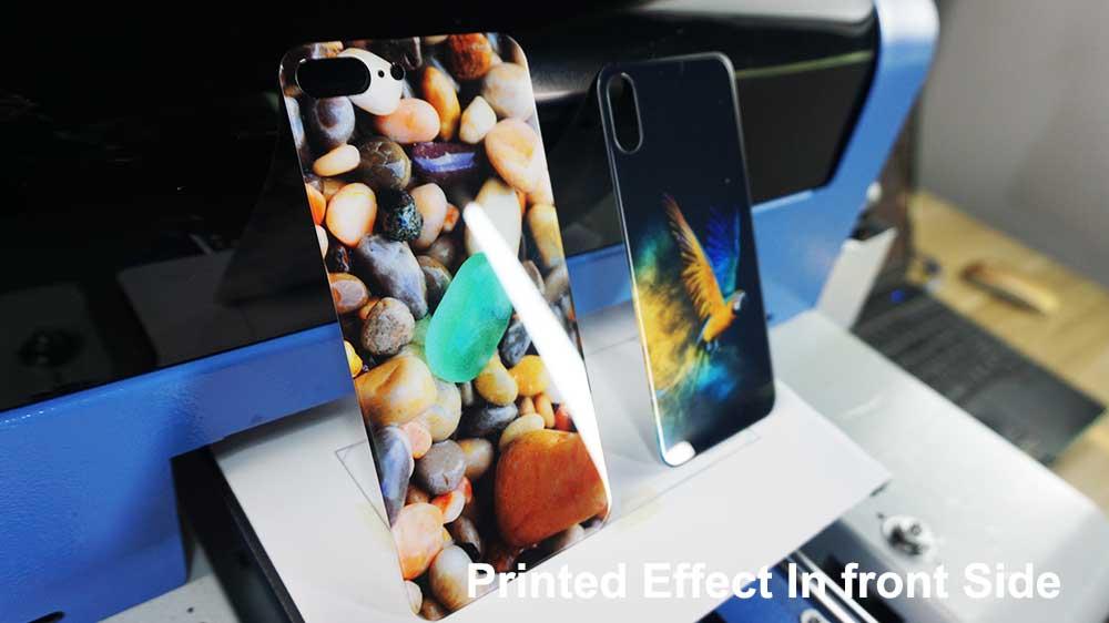 tempered glass phone case printing machine