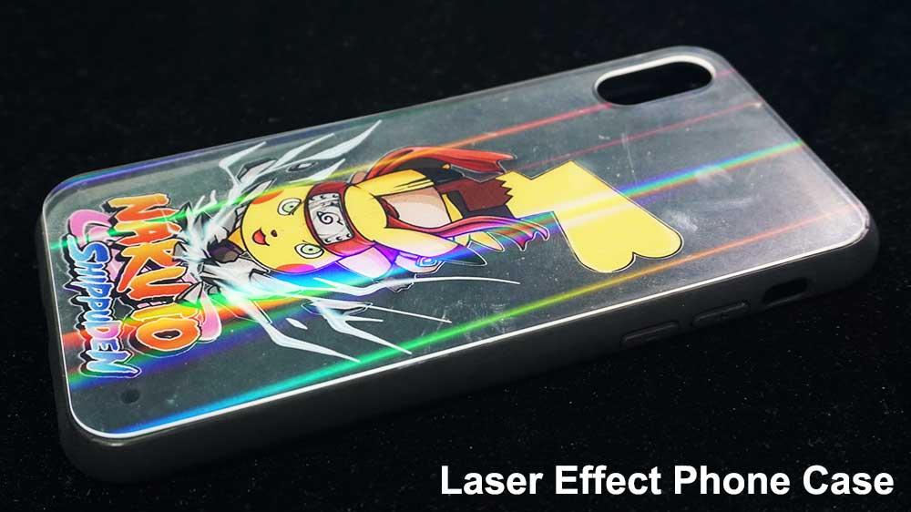 Laser plastic acrylic phone case printer