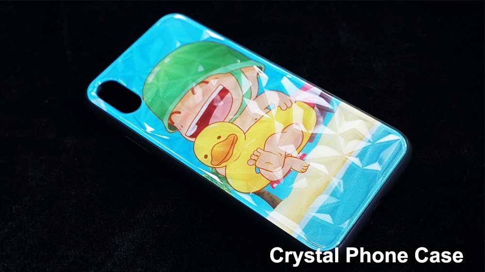 Crystal Acrylic Phone case printer