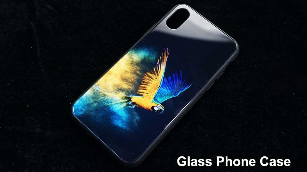 tempered glass phone case printer