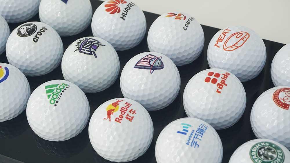 print on Golf Ball