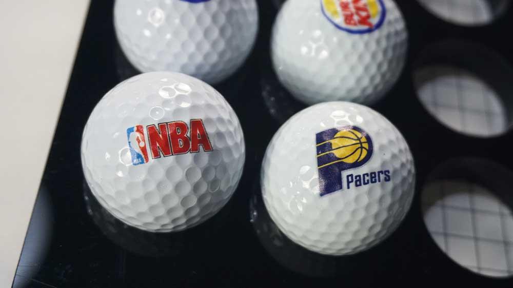 small cheap golf ball printer