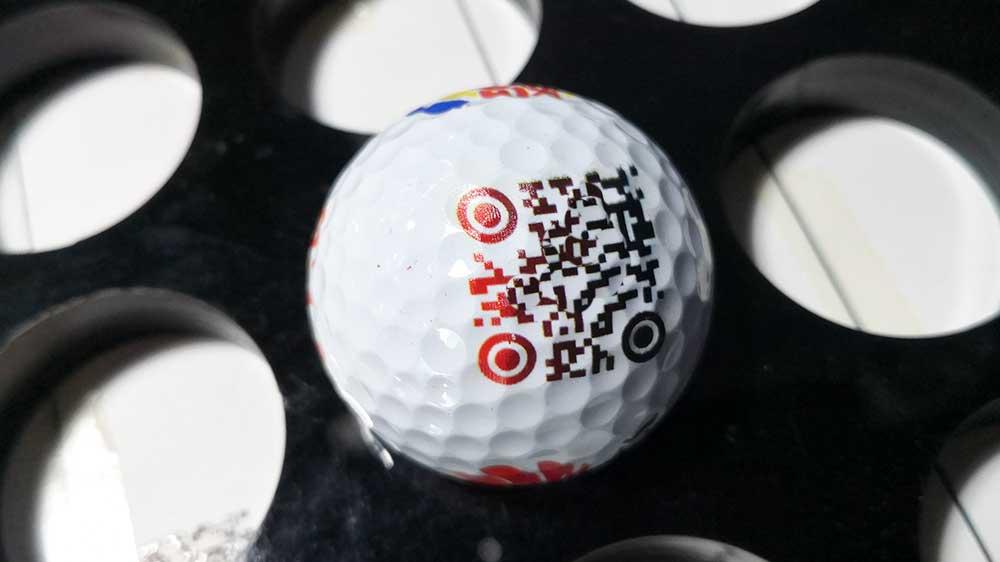 golf ball printing machine