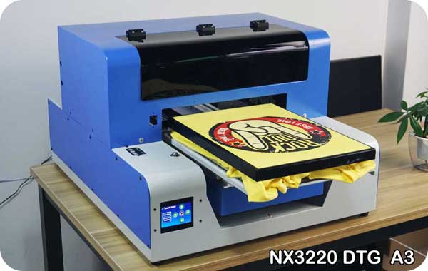 A3 DTG Printer - Best T Shirt Printing Mach
